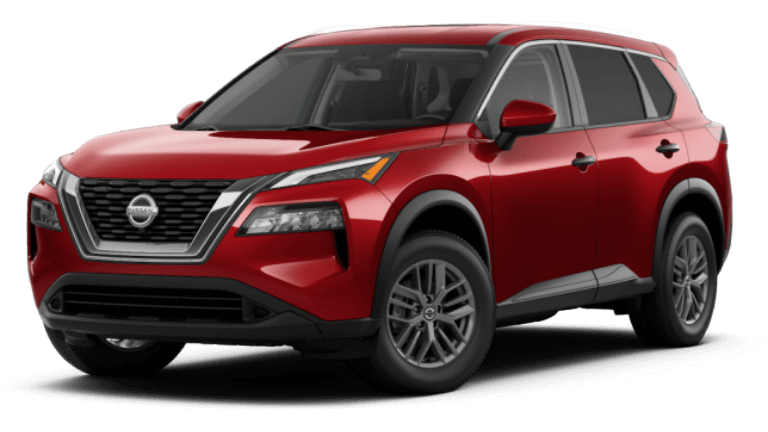 2021 Nissan Rogue S - Scarlet Ember