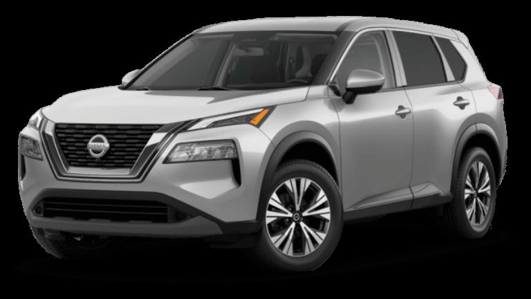 2021 Nissan Rogue SV - Brilliant Silver