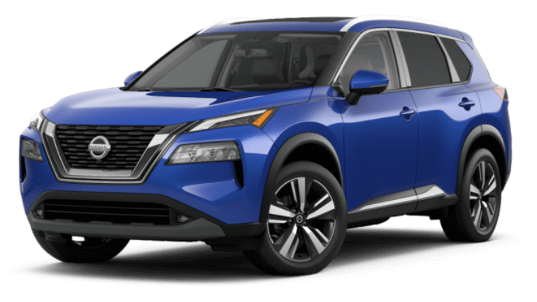 2021 Nissan Rogue SL - Caspian Blue