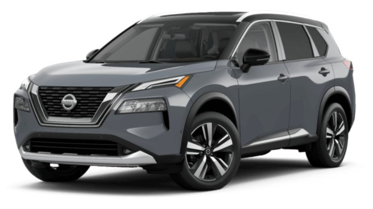 2021 Nissan Rogue Platinum - Two-tone Boulder Gray/Super Black
