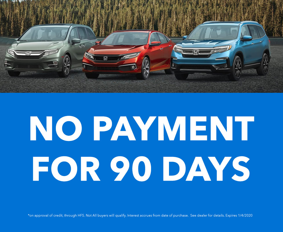 No Payments 90 Days