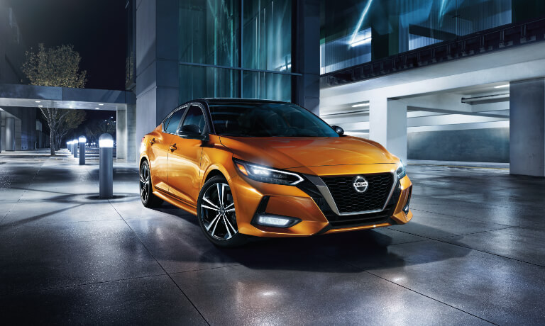 2020 Nissan Sentra exterior parked outside office