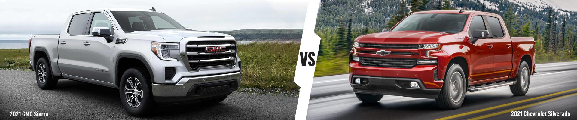 How the 2021 Chevrolet Silverado 1500 & 2021 GMC Sierra 1500 Compare