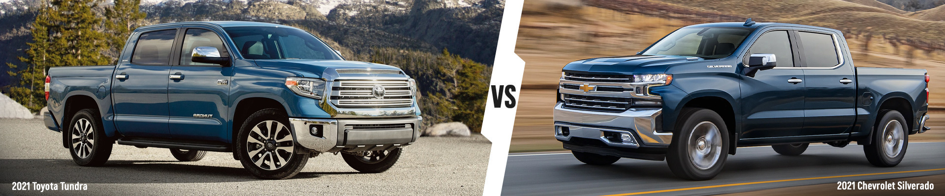 Comparing the 2021 Chevrolet Silverado 1500 & 2021 Toyota Tundra Trucks