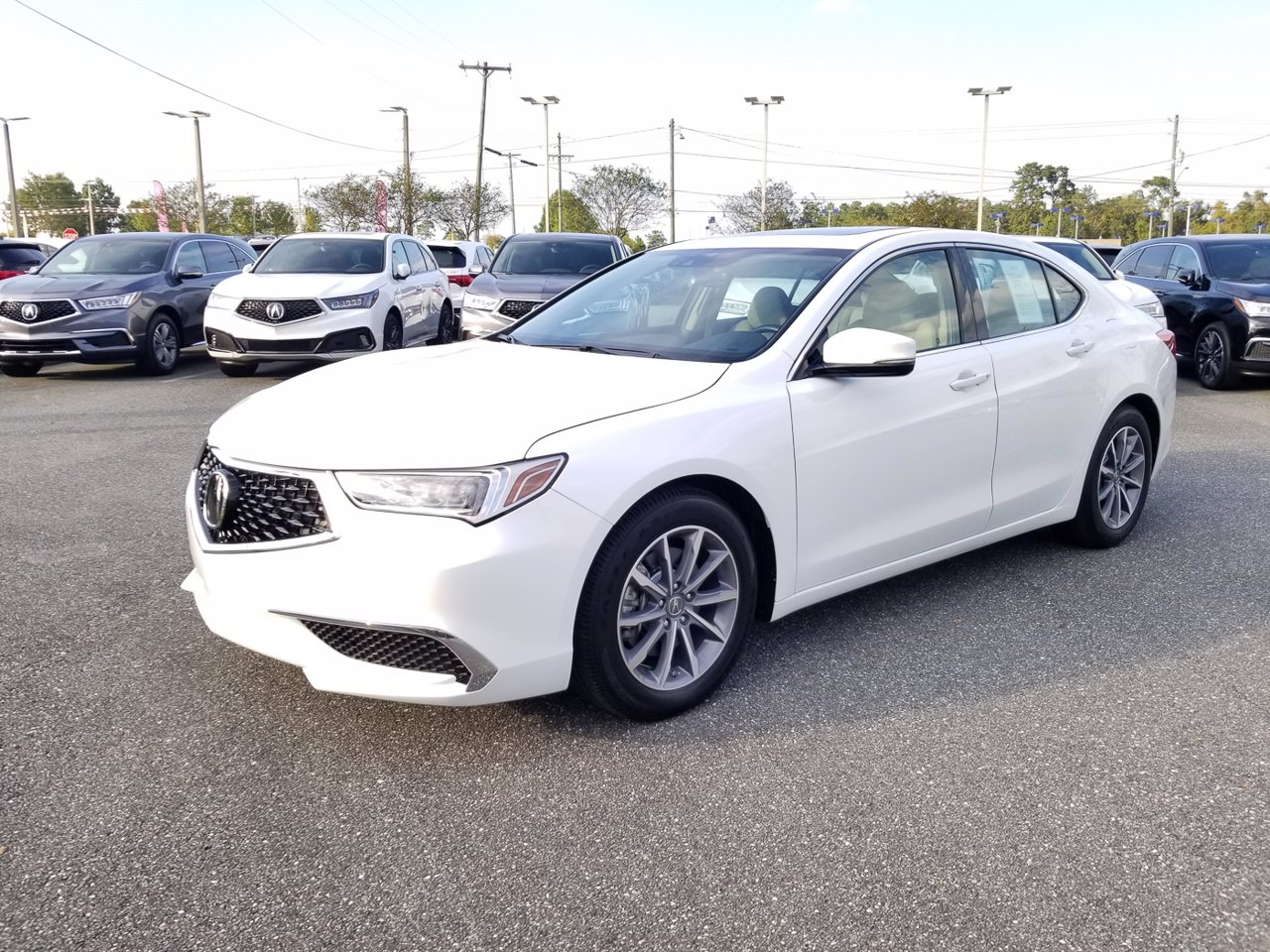 Certified 2018 Acura TLX FWD W/Technology Pkg