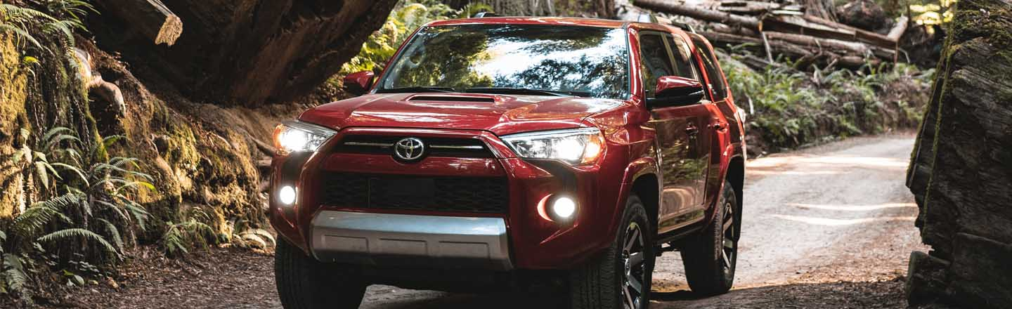 Experience the 2021 Toyota 4Runner At Our Paducah, KY, Car Dealer