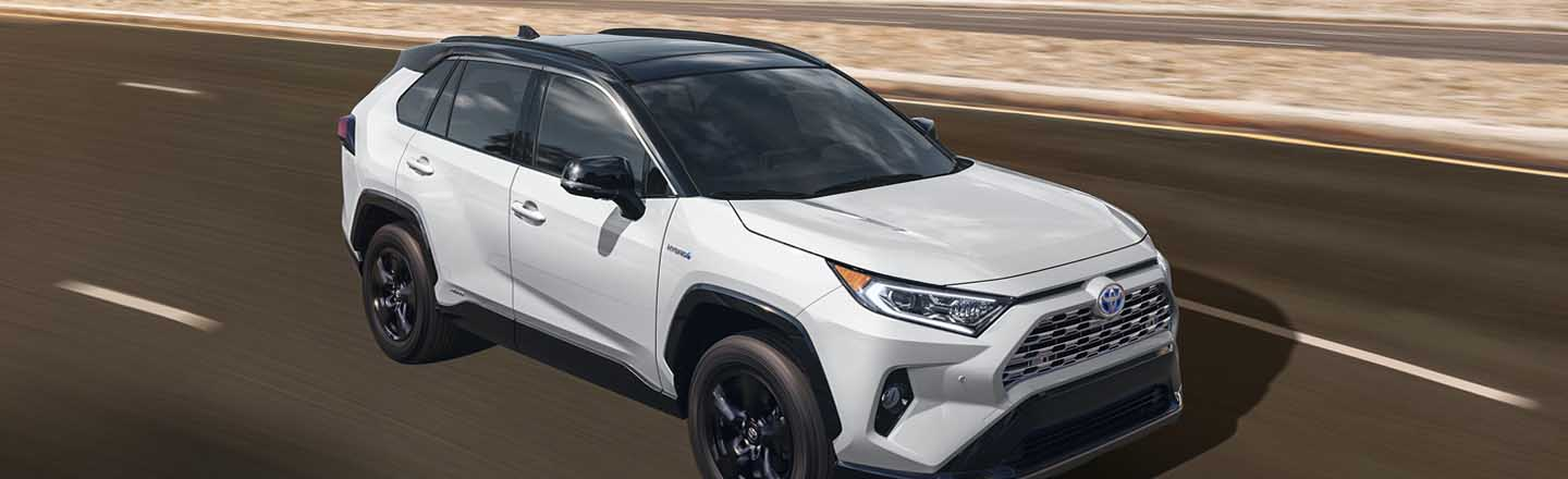 Experience the 2021 Toyota RAV4 Hybrid At Our Paducah, KY, Car Dealer
