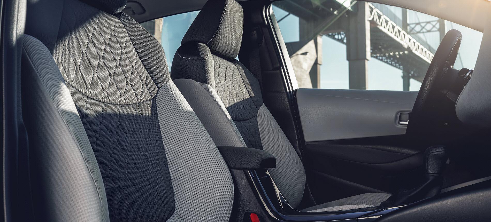 2021 Toyota Corolla Hybrid Interior Space