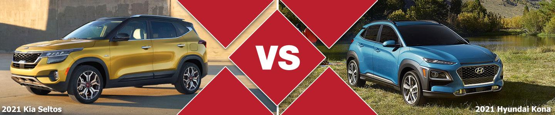 2021 Kia Seltos vs 2021 Hyundai Kona Compact SUV Comparison