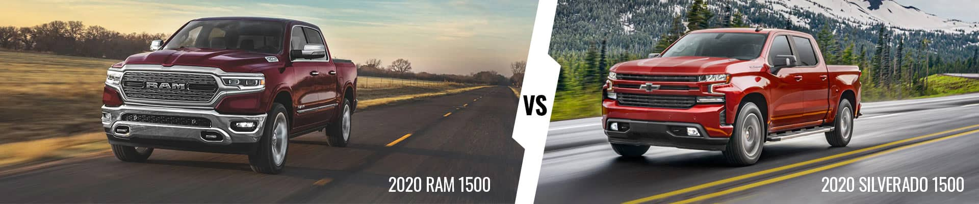 Compare The 2020 Ram 1500 & The 2020 Chevrolet Silverado 1500