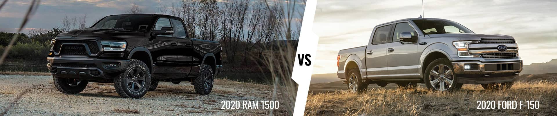Comparing The 2020 Ram 1500 & 2020 Ford F-150 Pickups