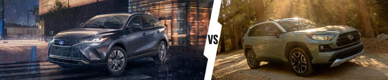 2021 Toyota Venza vs. 2021 Toyota RAV4