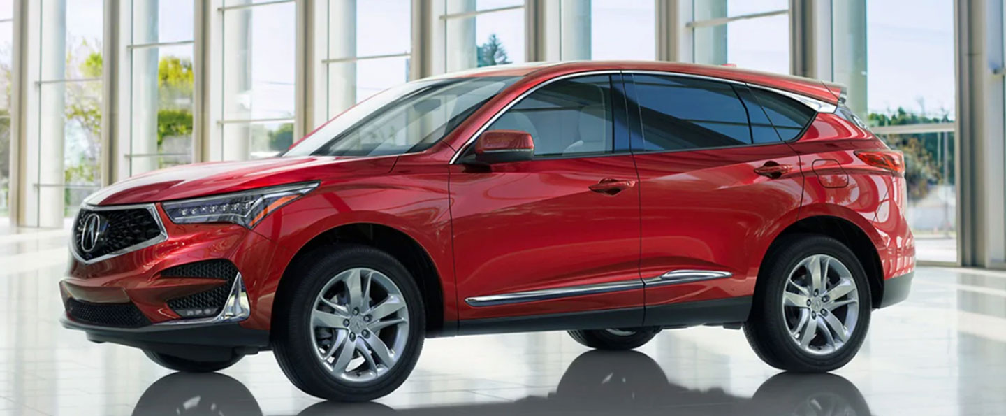 Rear view of 2021 Acura RDX