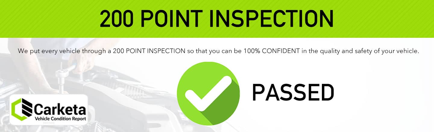 Carketa Inspection Passed