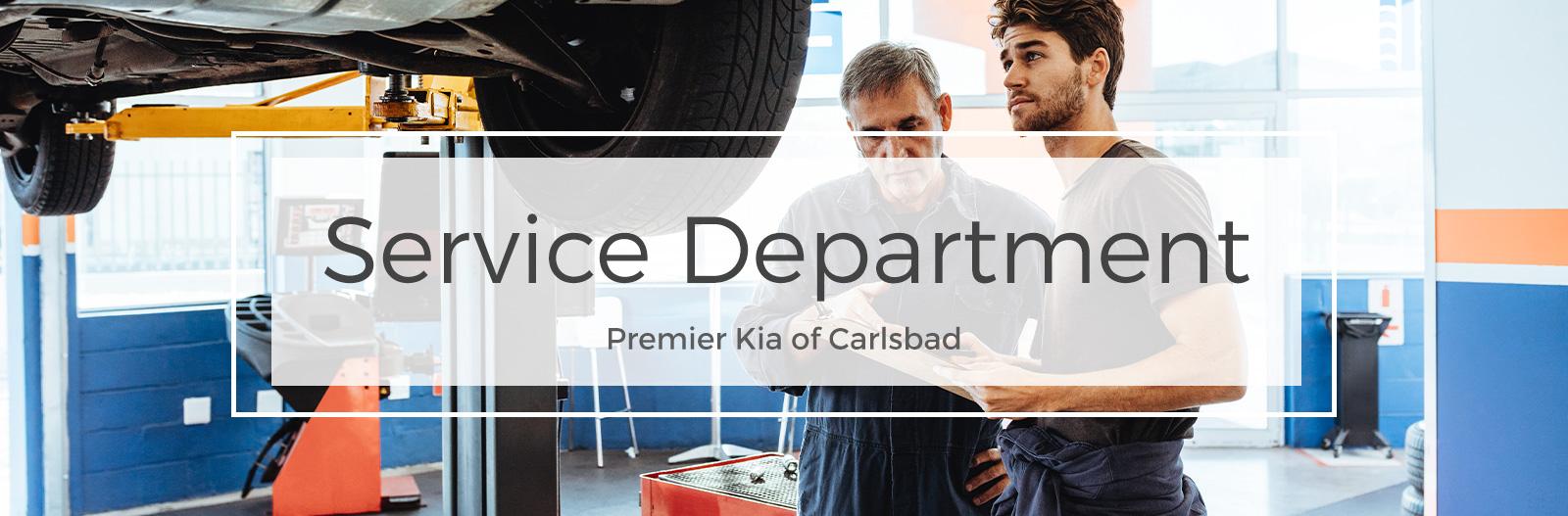Service at Premier Kia of Carlsbad