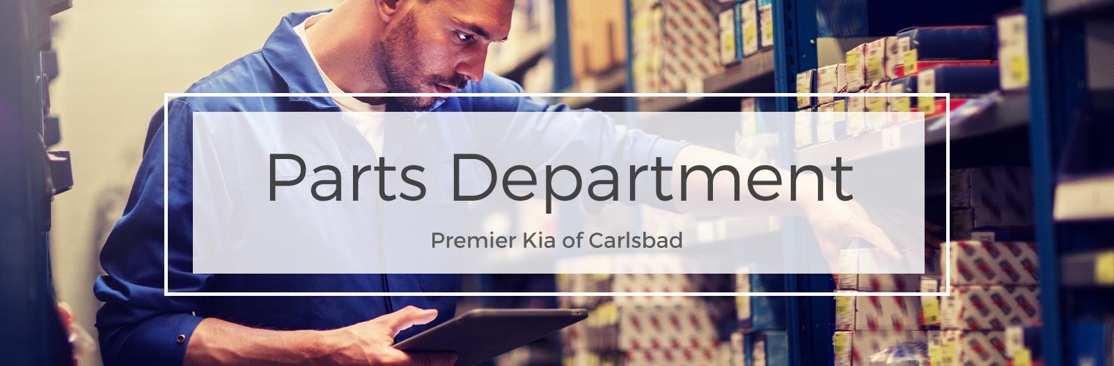 Parts Center at Premier Kia of Carlsbad