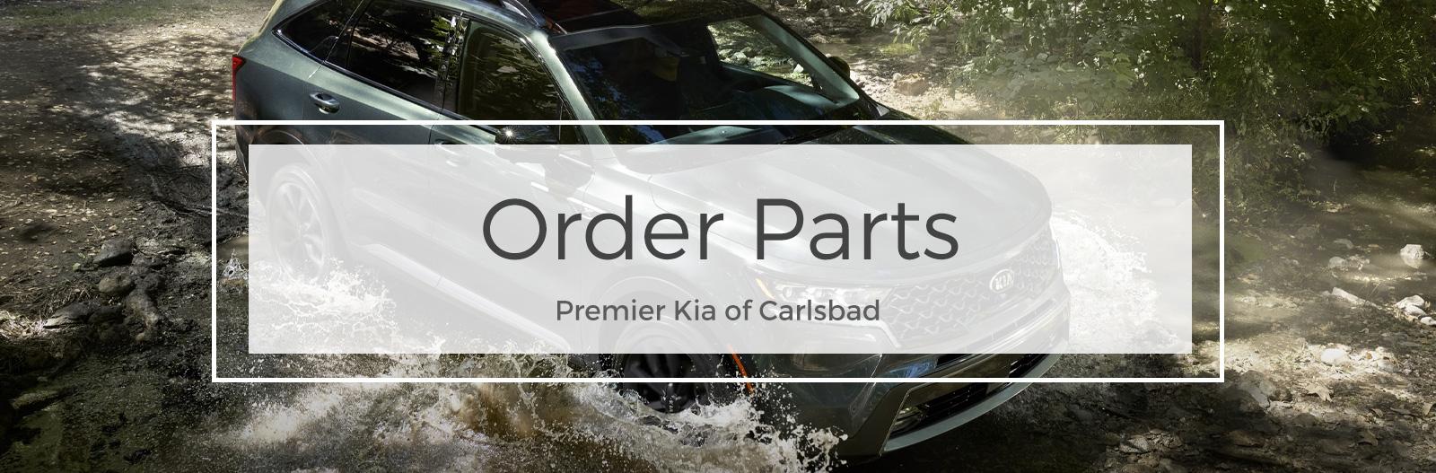 Order Parts at Premier Kia of Carlsbad