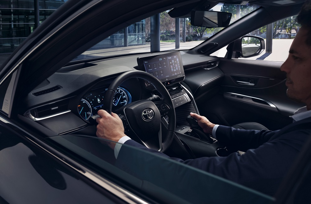 2021 Toyota Venza Interior Space