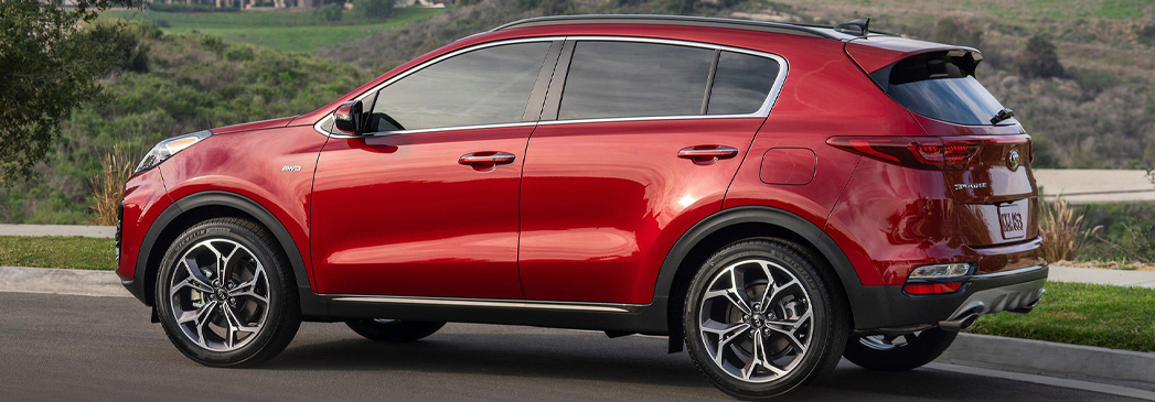 What features does the Kia Sportage have?