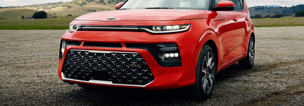 What colors does the Kia Soul offer?