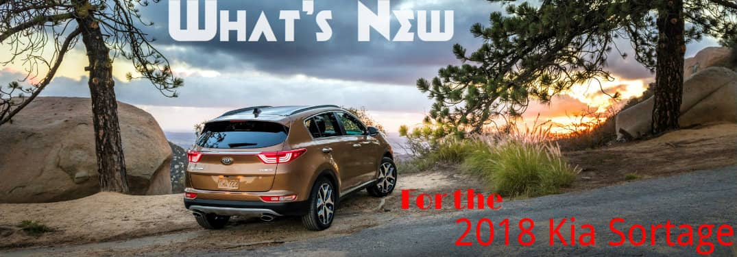 New packages and features for the Sportage