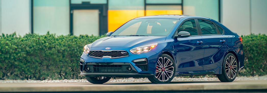 What technology is in the Kia Forte?