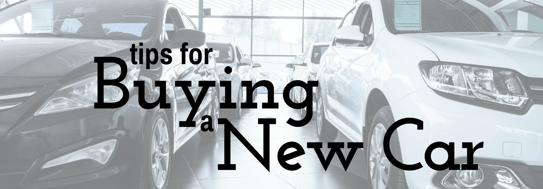 Tips for buying your first new vehicle