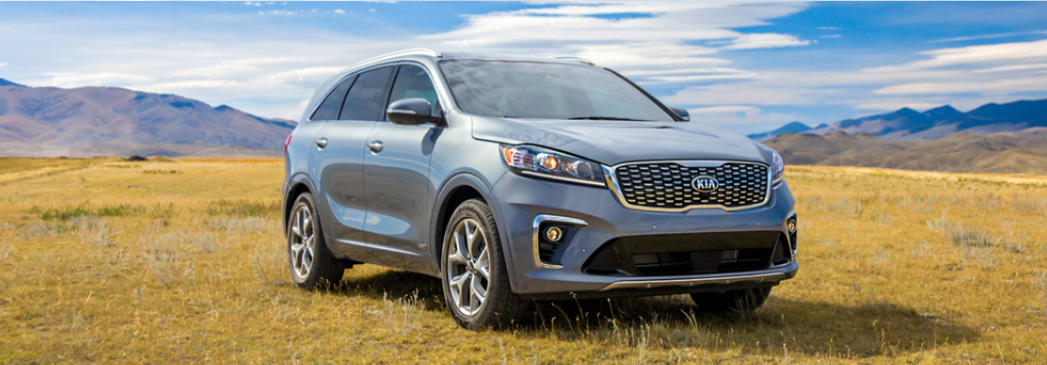 What colors are available on the Kia Sorento?