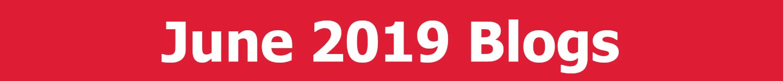 June 2019 Blogs