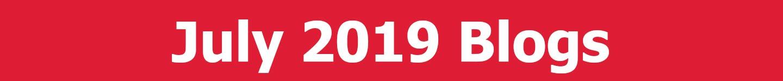 July 2019 Blogs