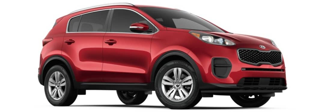 What features go with the 2019 Sportage LX