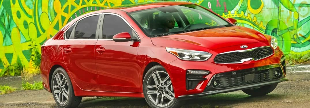 What comes as the top trim for 19 Kia Forte?