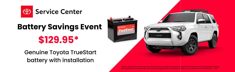 Battery Savings Event