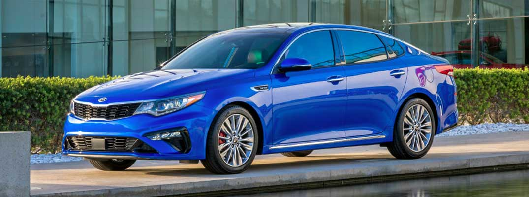 2019 Optima redesign & new technology
