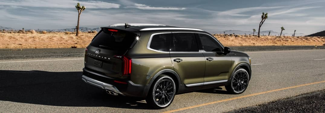 Exterior color options on the new Telluride