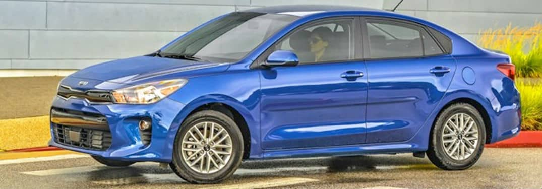 What technology is inside the 2020 Kia Rio?