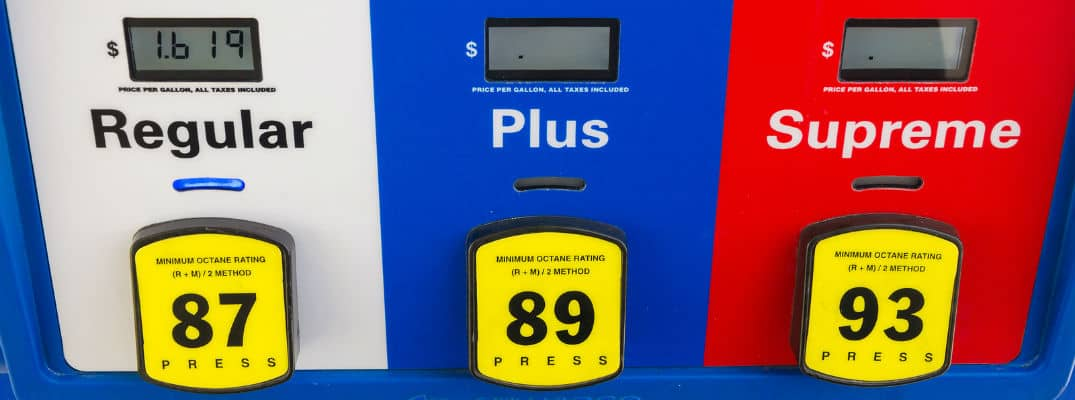 Are you using the right gas for your vehicle?