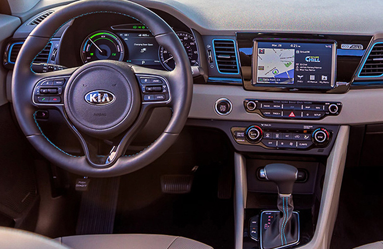 2018 Kia Niro interior cabin