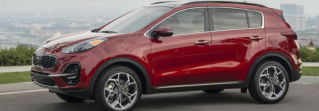 What interior features are in the Sportage?