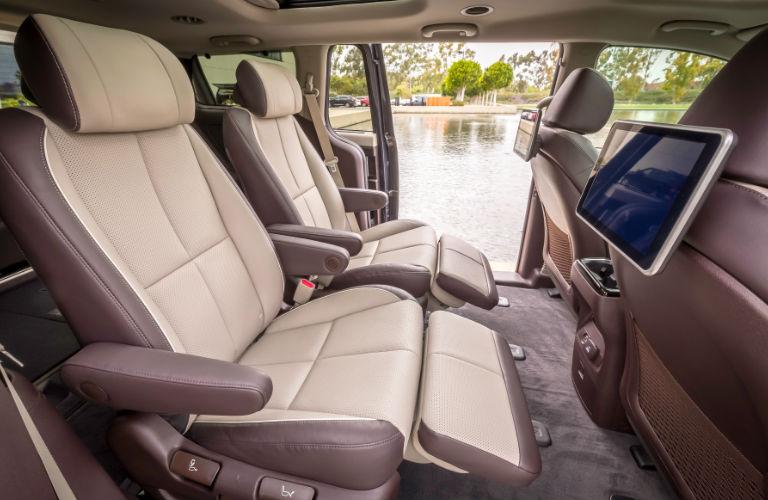 2019 Sedona backseat