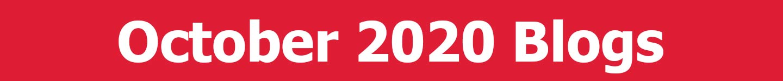 October 2020 Blogs