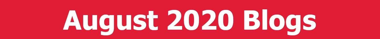 August 2020 Blogs