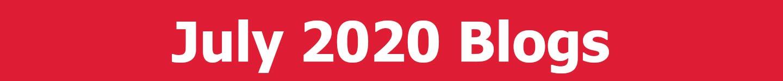 July 2020 Blogs