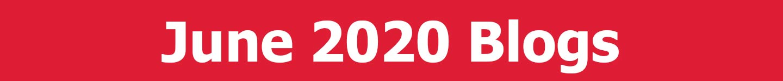 June 2020 Blogs