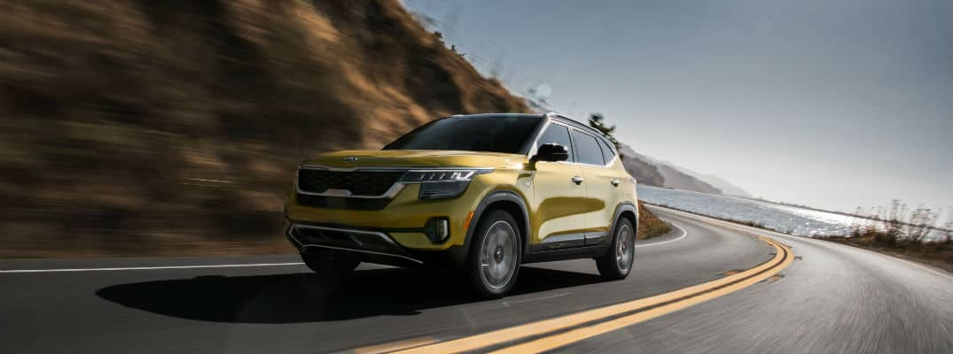 What colors are available on the Kia Seltos?