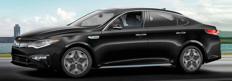 What do the Kia Optima trims offer?