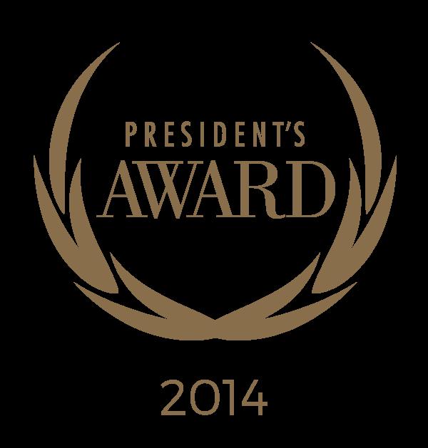 President's Awards 2014