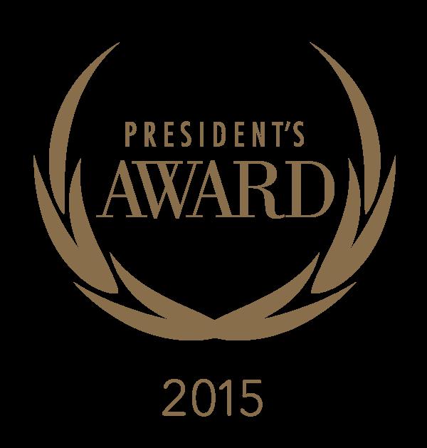 President's Awards 2015