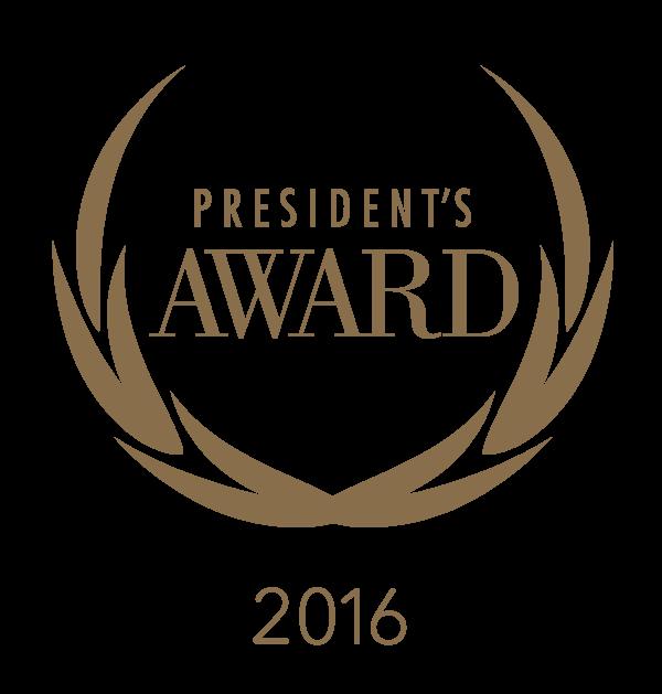 President's Awards 2016