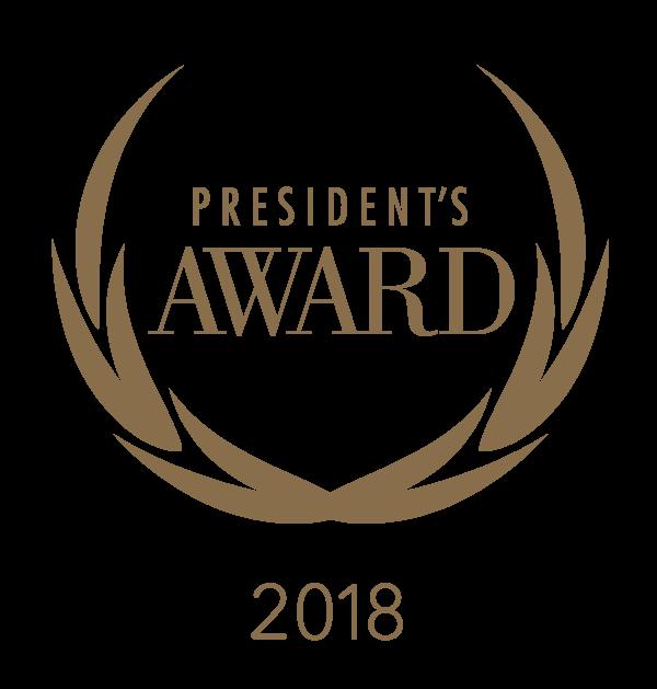 President's Awards 2018